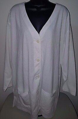Best United Garment NWT Womens White Button Down Shirt Top Blouse Size 18W