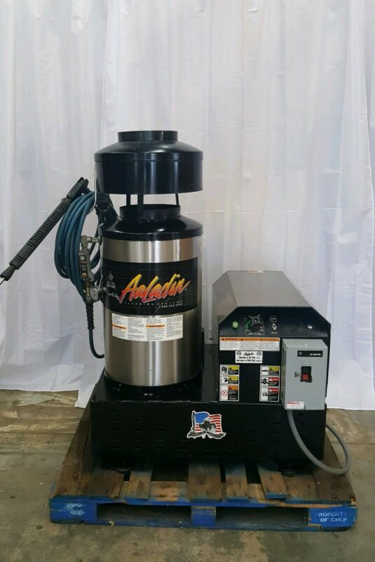 Aaladin HOT WATER PRESSURE WASHER 3000 PSI >>> see video <<< MODEL 1770