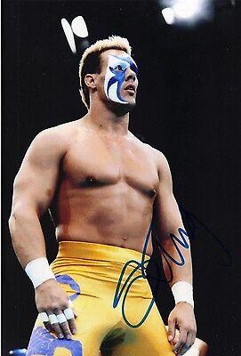 STING  SIGNED 10X8 PHOTO AUTOGRAPH WWE SURFER STING WCW AFTAL COA (7072)