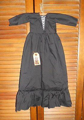 PRIMITIVE WALL DRESS HALLOWEEN BLACK WITCH Folk Art, Grungy, Decor, Cupboard