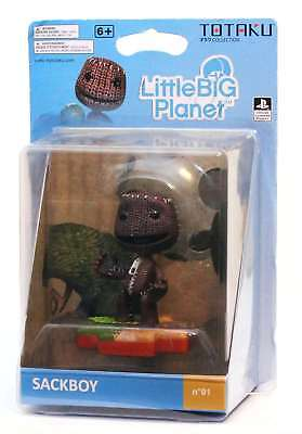 Used, Totaku Collection No 01 Little Big Planet Sackboy Figure New - Imperfect Card PS for sale  Kennard