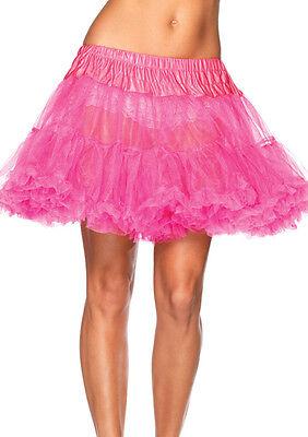 Petticoat Leg Avenue Costume Petticoat 80's Short Petticoat 1980s Tulle 8990](Petticoat Costume)