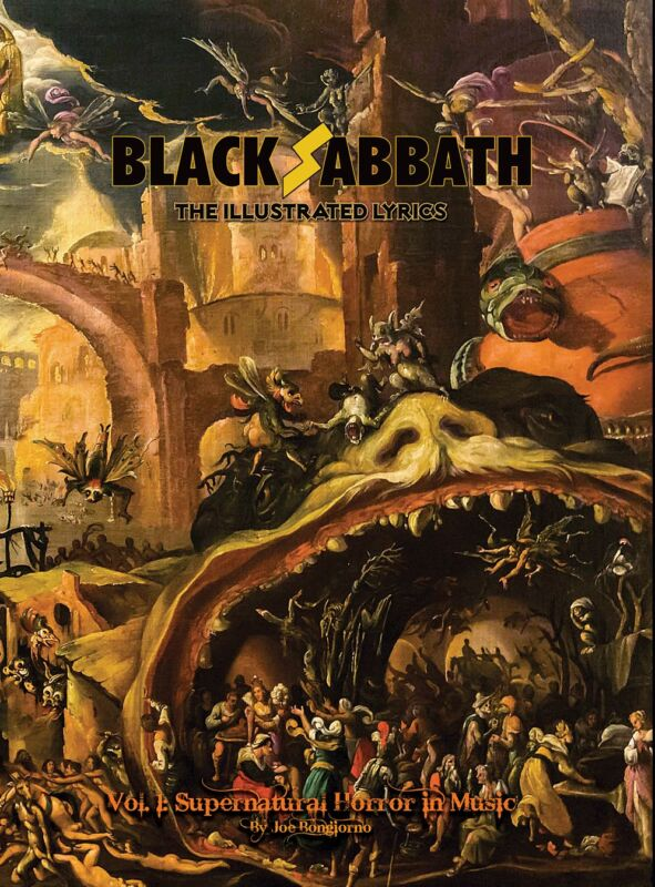Black Sabbath: The Illustrated Lyrics Vol 1: Supernatural Horror in Music (Book)