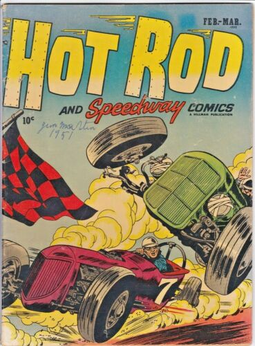 HOT ROD AND SPEEDWAY COMICS # 1 (HILLMAN-1952) ROSS ANDRU - MIKE ESPOSITO