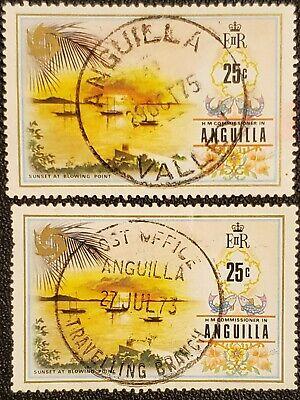 Anguilla 1972 Scott 154 Used (see description)