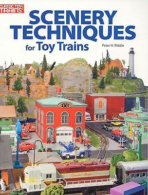 Kalmbach How To - KALMBACH SCENERY TECHNIQUES TOY TRAINS modeling layout how to design 108400 NEW
