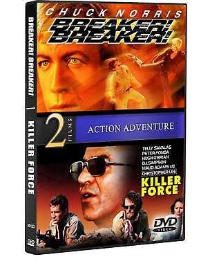 Breaker! Breaker! / Killer Force (Chuck Norris, George Murdock, Telly Savalas),  (Chuck Norris Breaker Breaker)
