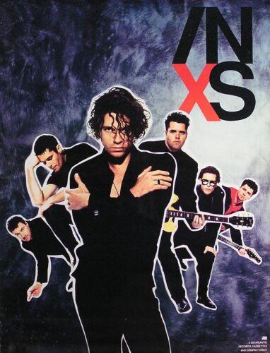 INXS 1990 X Original Promo Poster