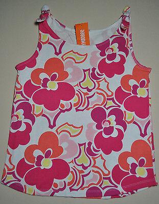 NWT Gymboree Summer Island White Tank Top,shirt Girl 3 or 4