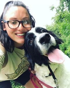 Reliable, trustworthy dog walker based in Hamilton
