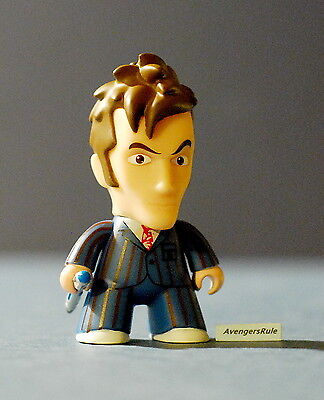 Doctor Who Titans Series 2 Vinyl Figures 3 Inch 10th Doctor Blue 2/20 Rarity