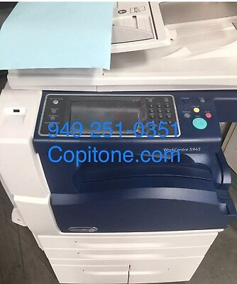 Xerox Wc 5945workcentercopierprintercolor Scancleanx49 Finisherwarranty