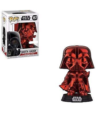 Funko Pop Darth Vader #157 Red Chrome Star Wars Target Exclusive - No sticker