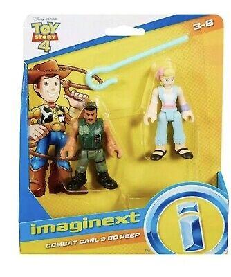 Imaginext Disney Pixar Toy Story 4 - Combat Carl & Bo Peep
