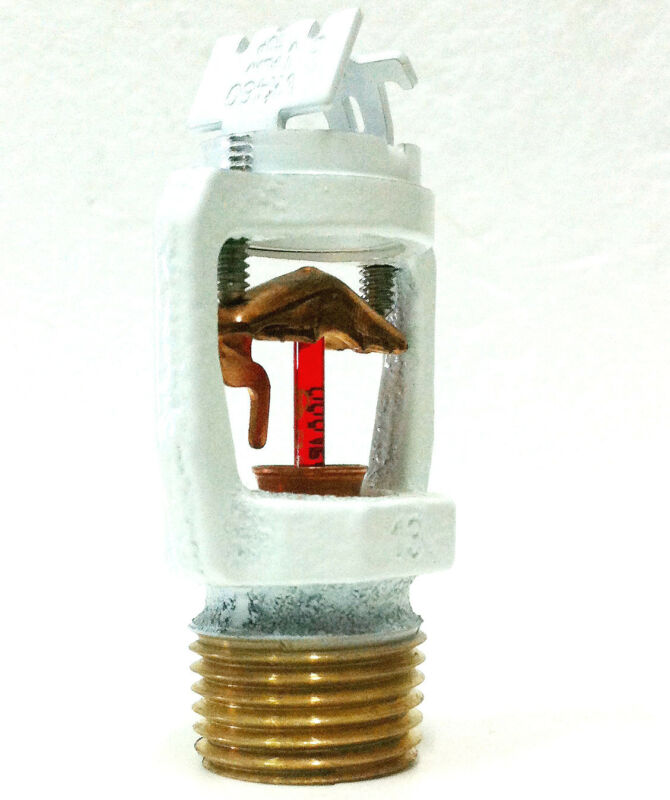 """155*F 1/2"""" Viking VK460 Residential Horizontal Sidewall Sprinkler White, K=5.8"""
