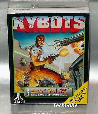 Brand New XYBOTS for Atari Lynx II 1 2 system factory sealed NIB