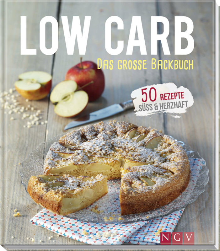 Anne Peters - Low Carb - Das große Backbuch