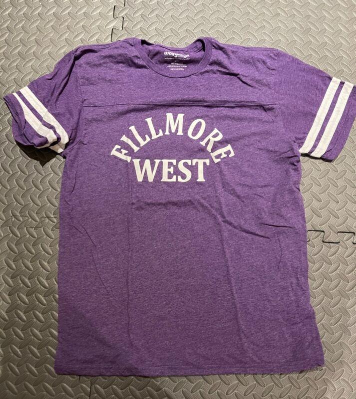Fillmore West T Shirt Grateful Dead pigpen bill graham retro old school LG