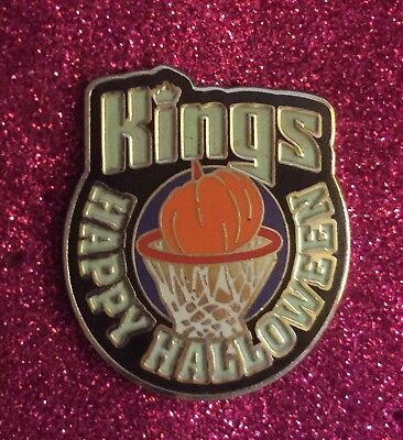 SACRAMENTO KINGS HALLOWEEN PIN HTF NO OFFERS ACCEPTED USA ONLY BIN FREE SHIP SO (Sacramento Kings Halloween)