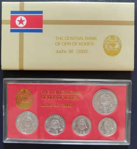 KOREA 5 Coins SPECIMEN 2009 with Original Box