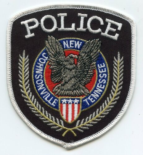 NEW JOHNSONVILLE TENNESSEE TN POLICE PATCH