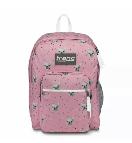 """NEW Trans by JanSport 17"""" SuperMax Backpack - Fierce Frenchi"""