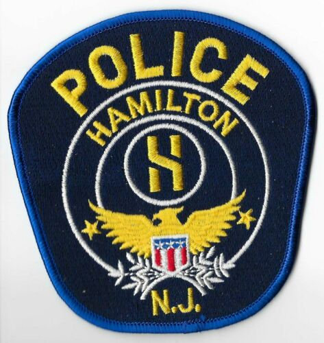 Hamilton Police Department, New Jersey Shoulder Patch