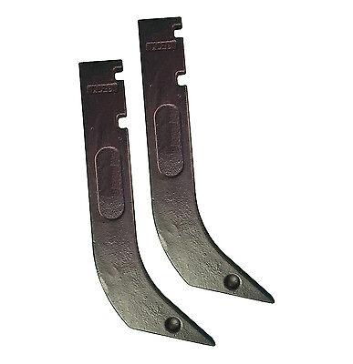 2 - Gannon Scraper Box Blade Scarifier Shanks - H920