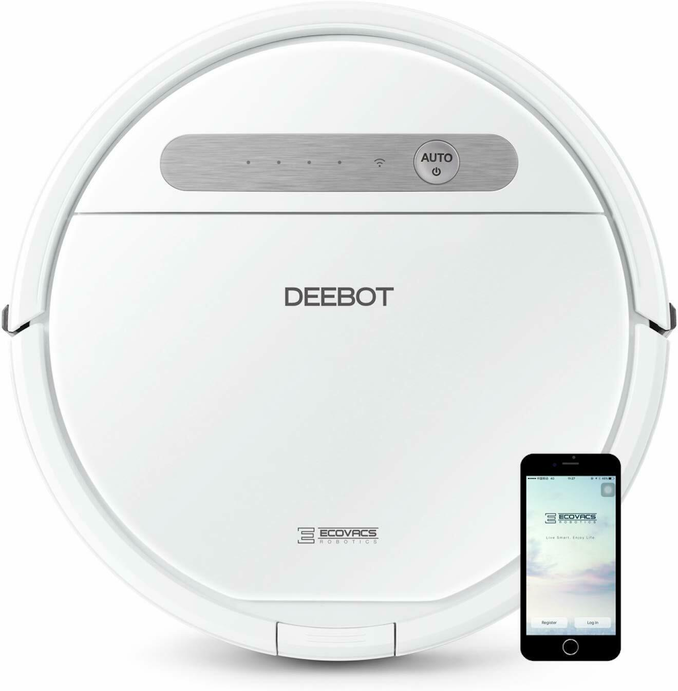 Ecovacs DEEBOT OZMO 610 Robotic Smart Vacuum Cleaner and Mop