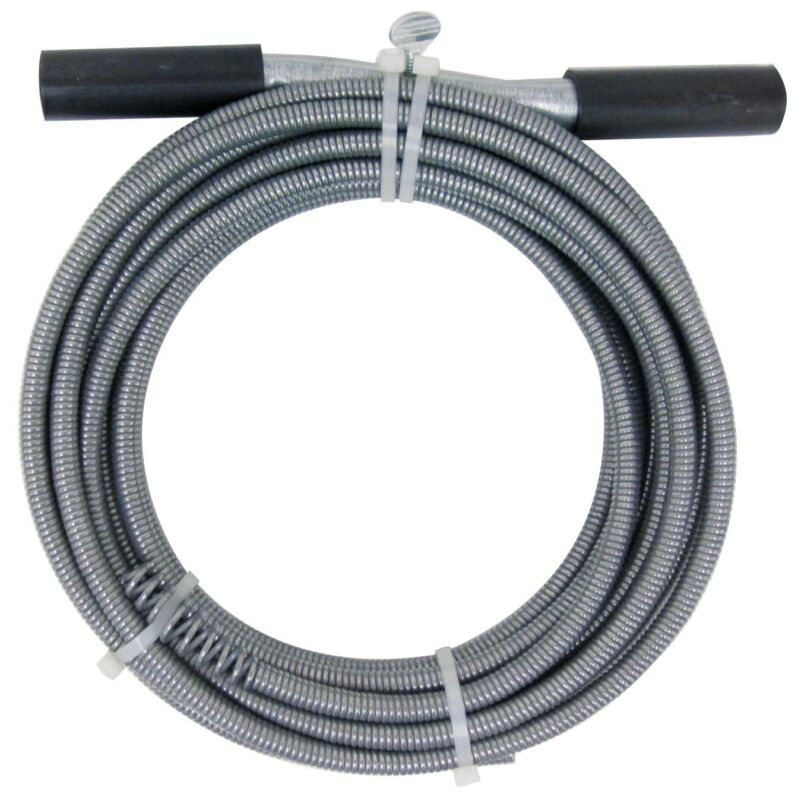 50-Ft Drain Auger Cable Cleaner Tool Snake Clog Pipe Plumbing Sewer Cleaning Tub