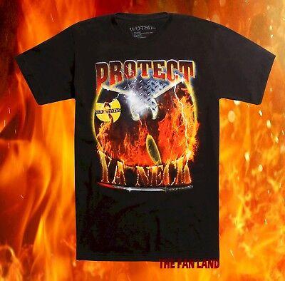 New Wu Tang Clan Protect Ya Neck 1993 Mens Classic Vintage Concert Rap T Shirt