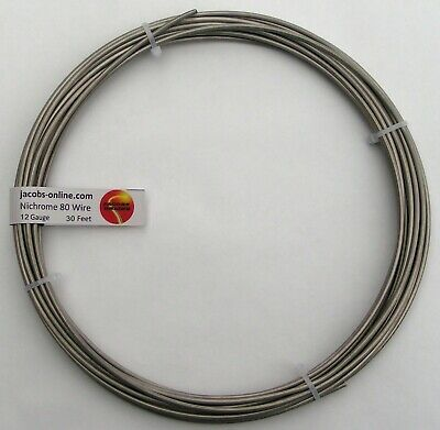 Nichrome 80 Resistance Wire 12 Awg Gauge 30 Feet