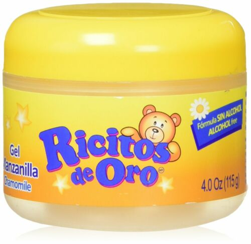 Ricitos De Oro Chamomile Baby Styling Gel. Alcohol Free, Natural. 4.0 Fl Oz.