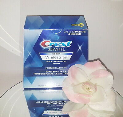 Crest 3D Whitestrips Professional Effects NO SLIP 40 Dental White Strips