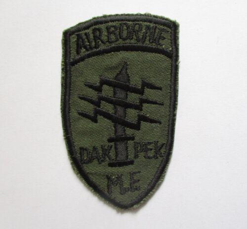 Patch_ US 5th SFGrp Detachment A-242 AIRBORNE DAK PEK Mike Force Vietnam War Pat