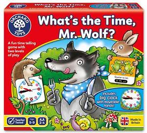 Orchard Toys What's the Time, Mr Wolf?