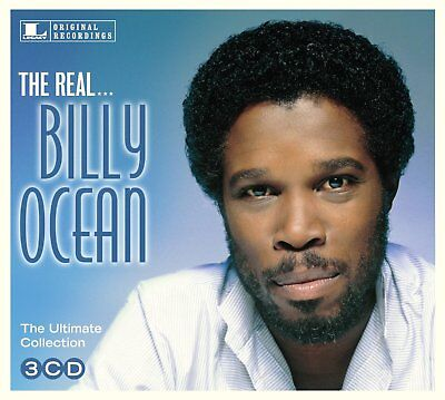 BILLY OCEAN THE REAL...THE ULTIMATE COLLECTION 3 CD ALBUM SET