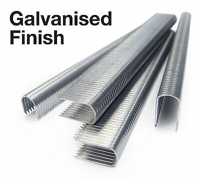 1,000x Tacwise CT-60 14mm Galvanised Cable Staples / Rapesco CT10 T25 - 36 Type