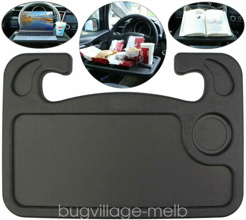 Car Steering Wheel Desk Auto Car Computer Mount Table Holder Eating Tray Stand