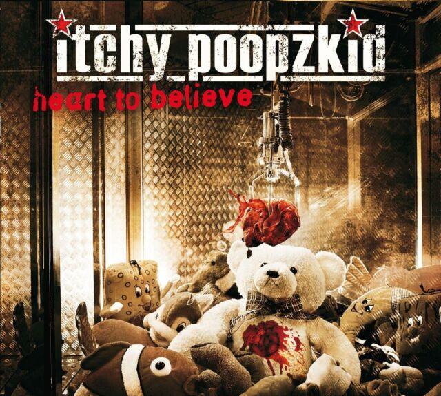 ITCHY POOPZKID - HEART TO BELIEVE (REISSUE)  CD NEU
