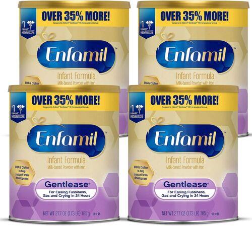 Enfamil Gentlease pack of 4 - 27.7oz cans