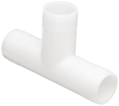 "Barbed Tube tees, durable Nylon extra grip, tee for 3/4"" Tube ID, set of (2) two"