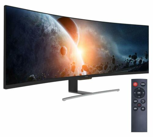 "VIOTEK 49"" Super Ultrawide 32:9 Curved Monitor 144Hz 3840x1080p w/Speaker SUW49C"