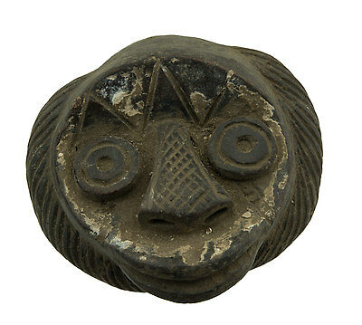 Mask African Monkey Pasport Case - Terracotta Art Premier- Af 6351 - B2B