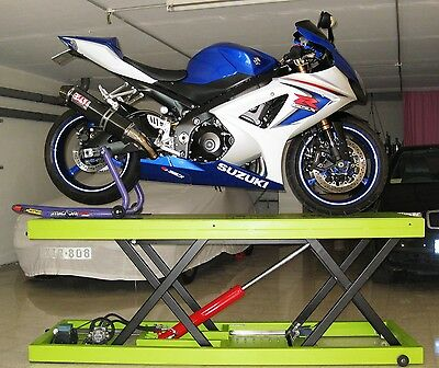 Hydraulic Bike Motorcycle Lift Jack Table - Instructions Manual Plans