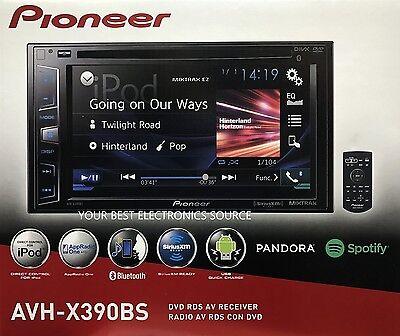 "NEW Pioneer AVH-X390BS 2-DIN Bluetooth DVD/CD/AM/FM Car Stereo 6.2"" Display"