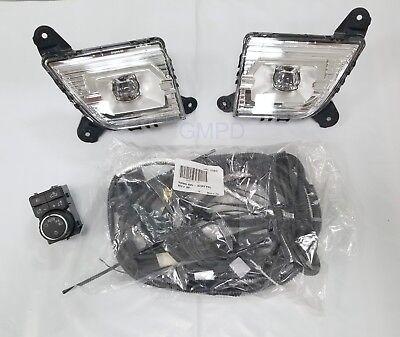 2019-2020 New Gen. Silverado Fog Lamp Light Kit 84125494 Read Description 1st