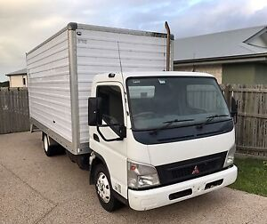 Mitisubshi Canter 7.5ton gvm light rigid truck pantech tray Urraween Fraser Coast Preview