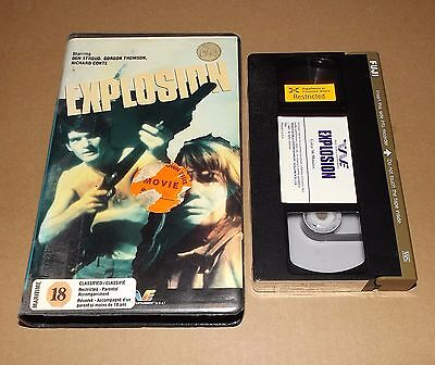 Explosion Vhs Video Trans World Entertainment Gordon Thomson Astral Video