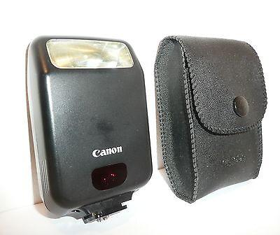 GENUINE CANON SPEEDLITE 160E for CANON EOS FILM SLRs, CASED, CLEAN, NOT DIGITAL